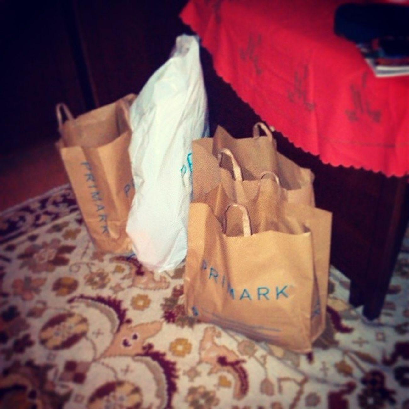 Just got back from shopping! Primarkfever Primark Shops Shopping daddy'sgift