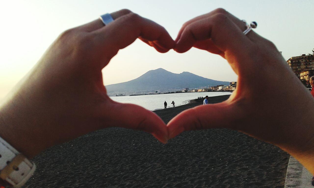 Napoli nel cuore Nature Sea Love Vesuvio Vesuvio Da Lontano da castellammare di stabia