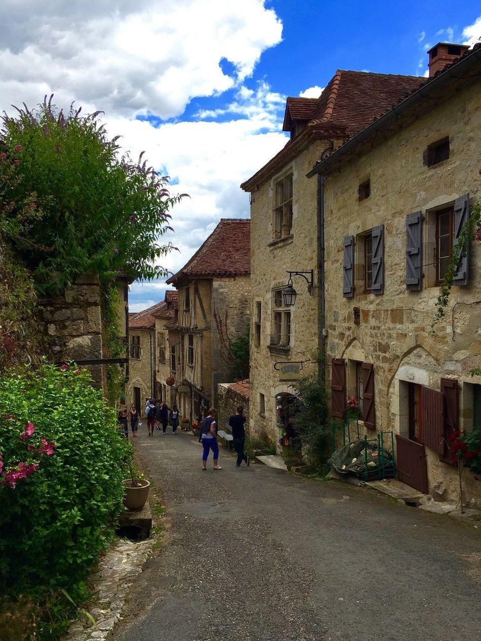 Saint-cirq-lapopie France Midi-Pyrenees