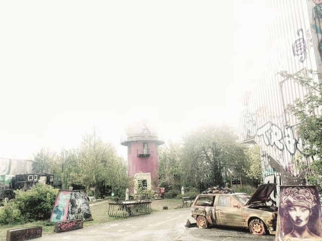myBerlin Berlin Leftovers Graffiti Industrial