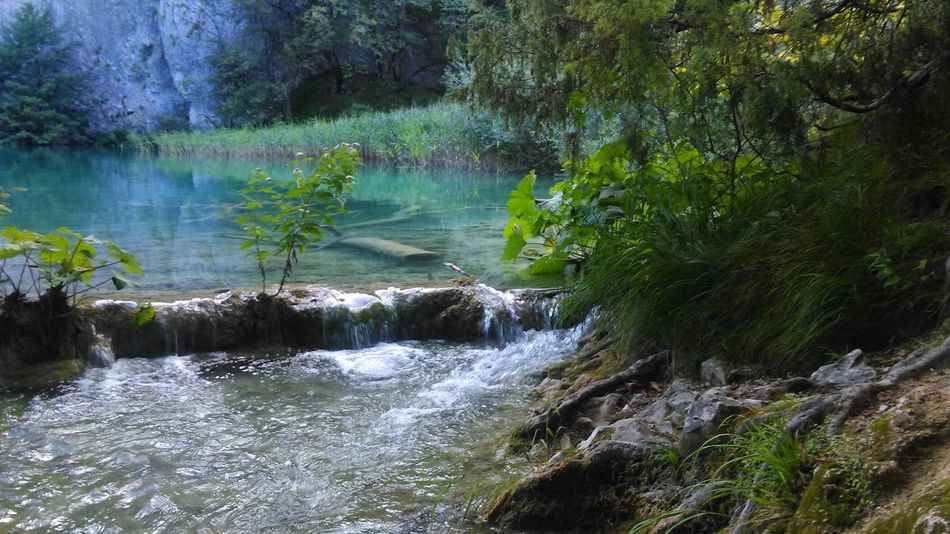 Nature_ Collection  Watercolor Lake Travelphotography Travelphoto Amazing Places Beautyinnature  Water_collection Plitvice National Park Plitvice Photoofnature Croatia Croatia_photography Amazingnature Beautyinnature  Water Waterandgreen