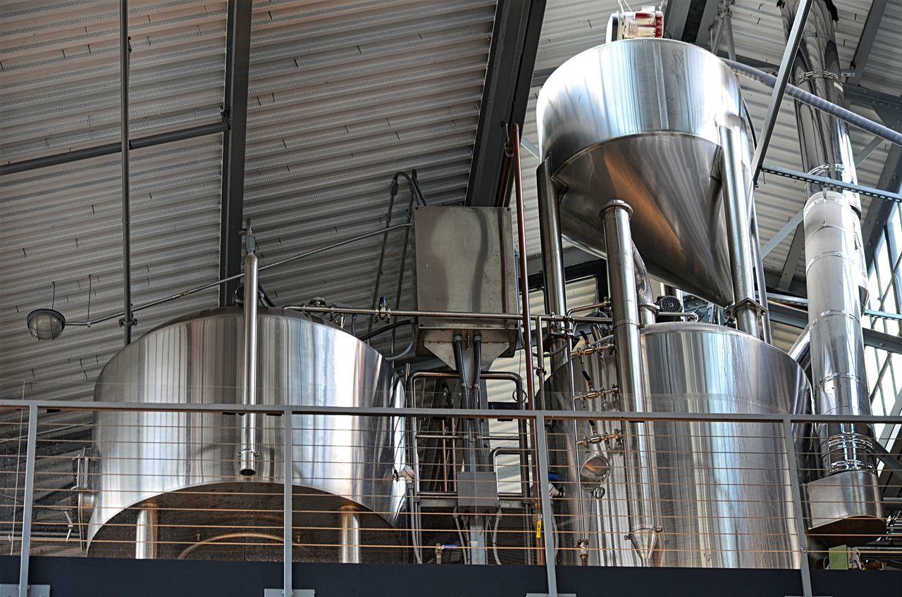 Vats and beer brewing stainless steel equipment in Washington, DC Beer Brewery Equipment EyeEm Gallery Indoors  Pjpink Stainless Steel  STAINLESSSTEEL Vats