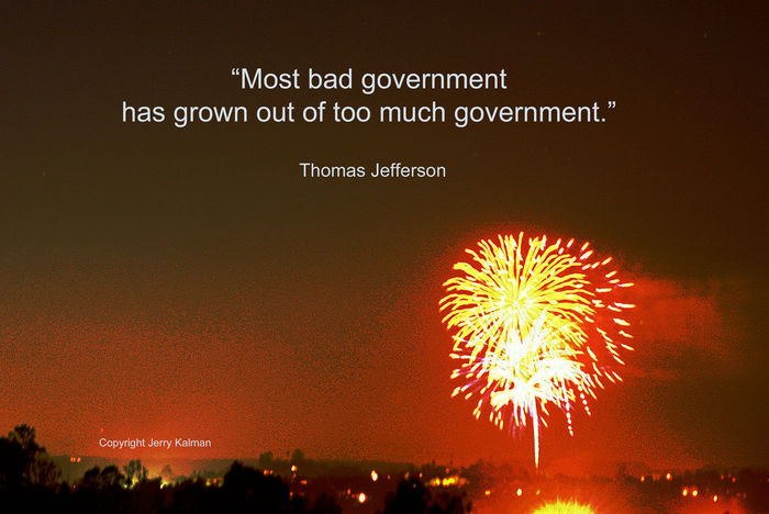 #FourthofJuly fireworks from #2016GrandTradition celebration here in #Fallbrook, alas the last; and a seminal #quote by #ThomasJefferson. If this #quotograph speaks to you, please #repost it. Fallbrook Fireworks Fourth Of July Grand Tradition Night Sky Quote Quotograph Thomas Jefferson