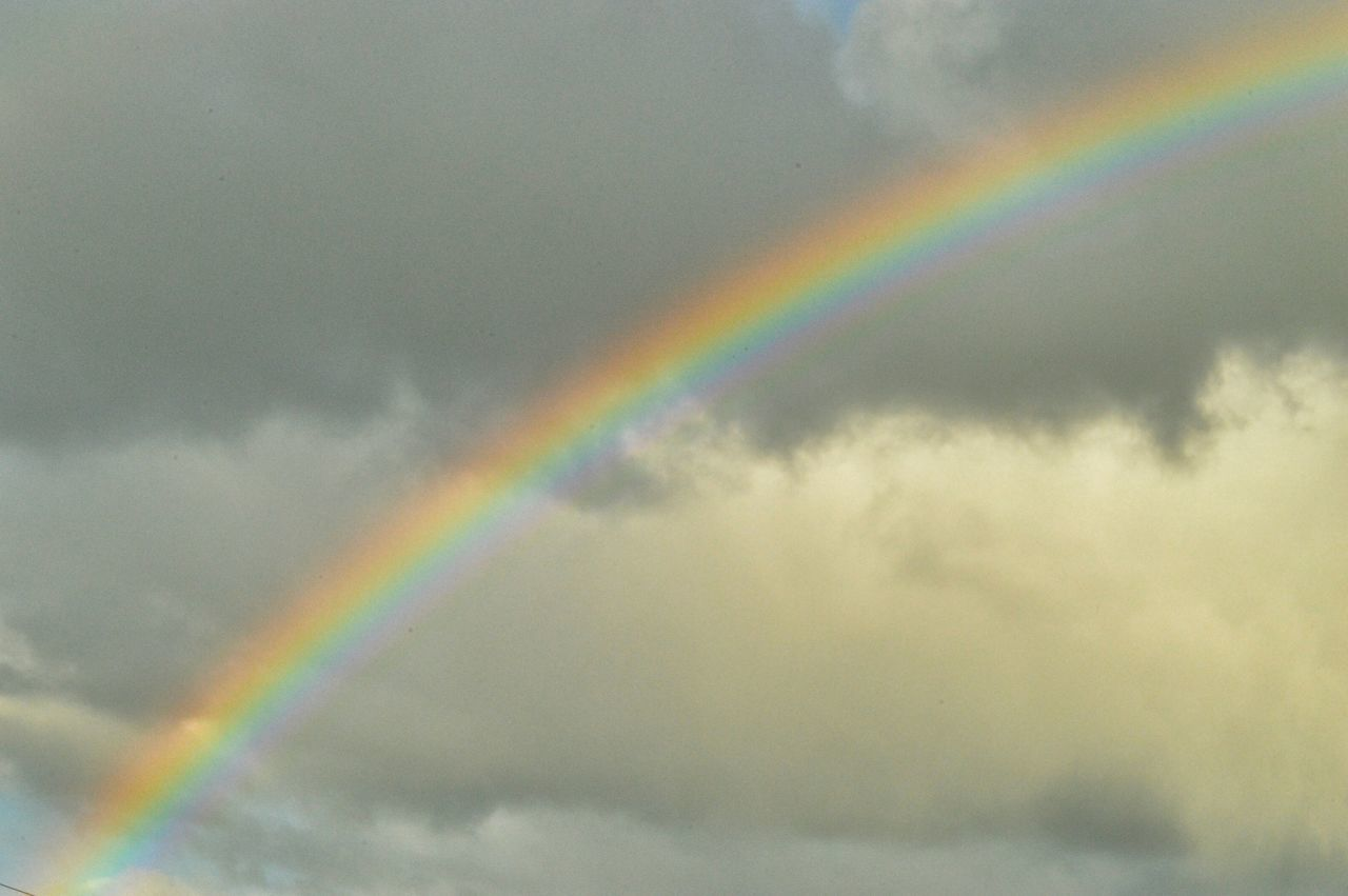 Beautiful stock photos of rainbow, Beauty In Nature, Cloud - Sky, Cloudy, Day