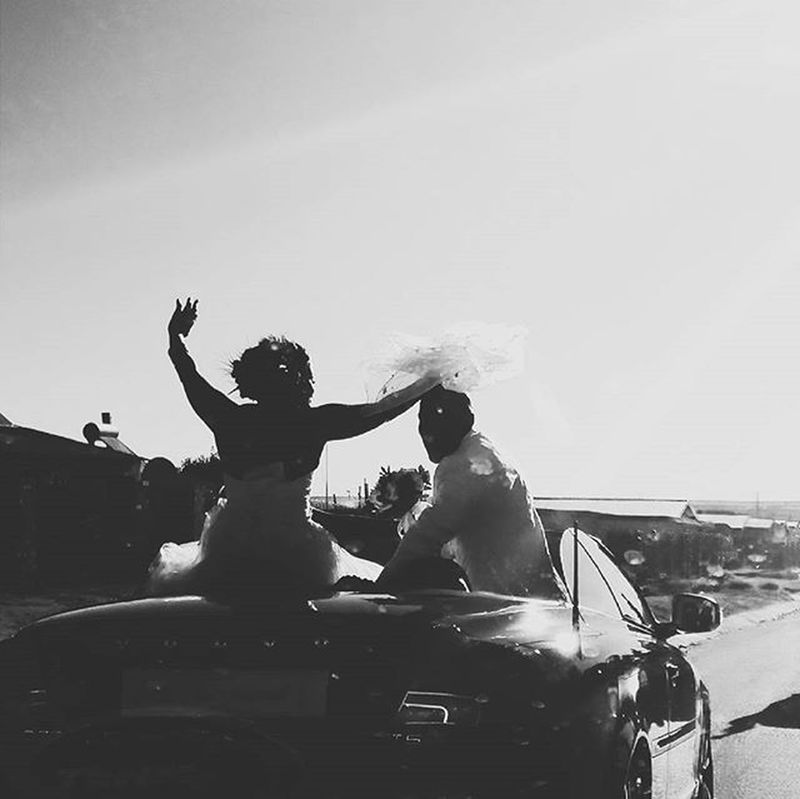 Glad to witness the beautiful union between two people Wedding Blackandwhite Blackandwhitephotography Celebration Happiness Joy Southafrica Kroonstad Huawei Droptop  Weddings Weddingphotography Unity Together Convertible