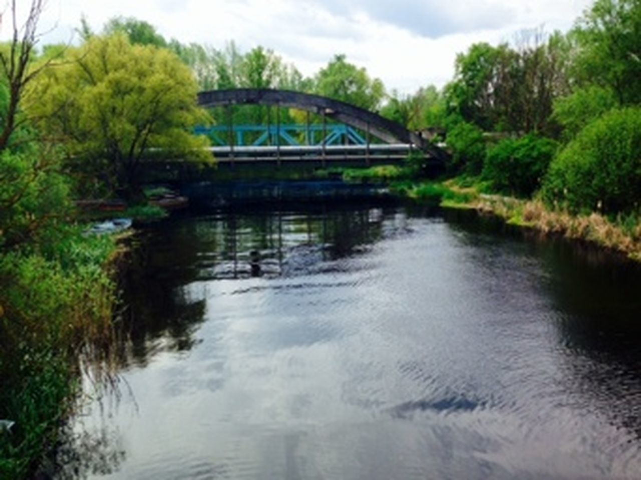 Bridge Crymeariver Peace And Quiet Trainbridge Water Water Reflections Zala