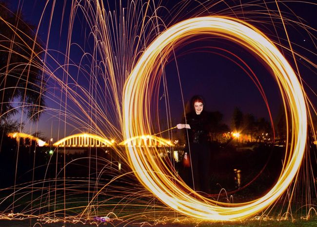 Steelwool 43 Golden Moments Steelwoolphotography Night Photography Nightphotography Long Exposure