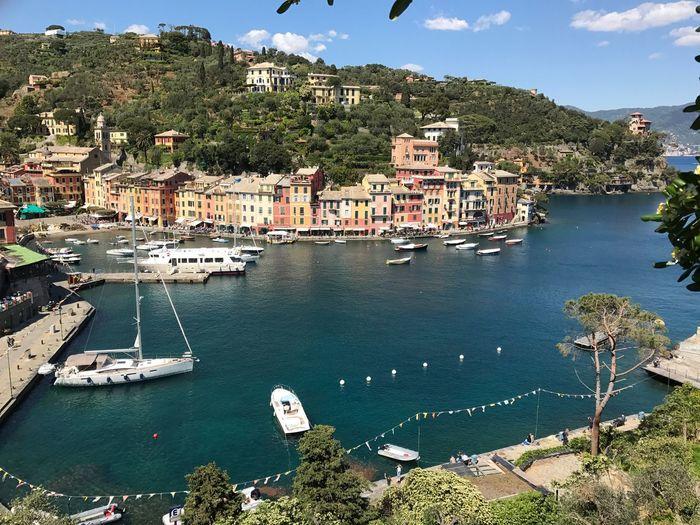 Paradise Italian Riviera Italy❤️ Water Traveling Boats