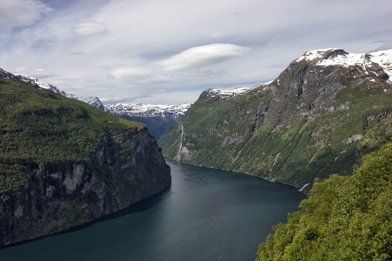 Fiord Fiordland Fiords Landscape Mountain Nature Norway Outdoors Scenics