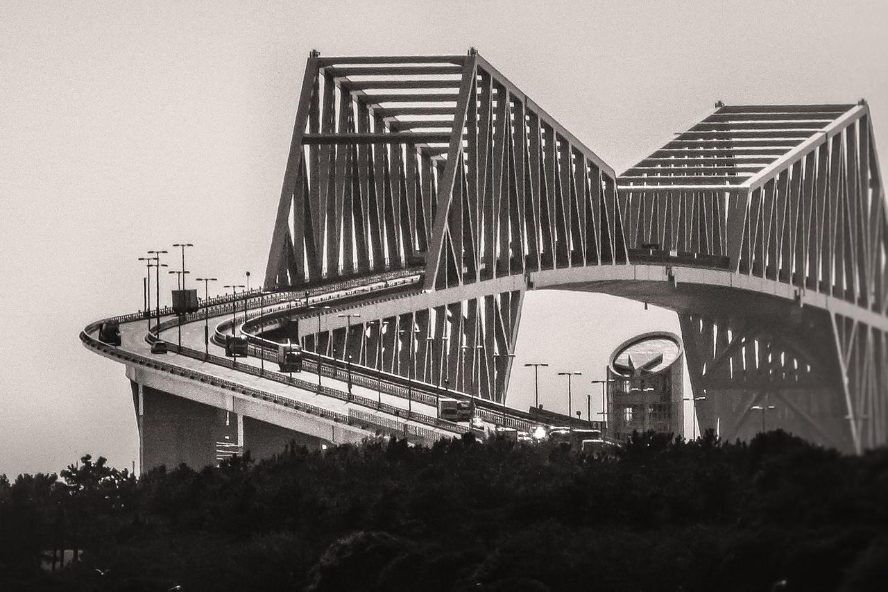 Tokyo Gate Bridge Architecture Bridge Japan Modern Outdoors Sky Tokyo Bay Tokyo Gate Bridge The Architect - 2016 EyeEm Awards