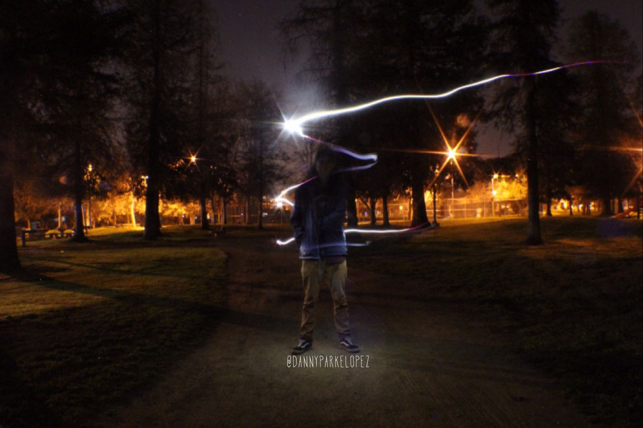 we will faded away some day ... Lightpainting Night Friends Likeforlike Losangeles Westwoodvillage