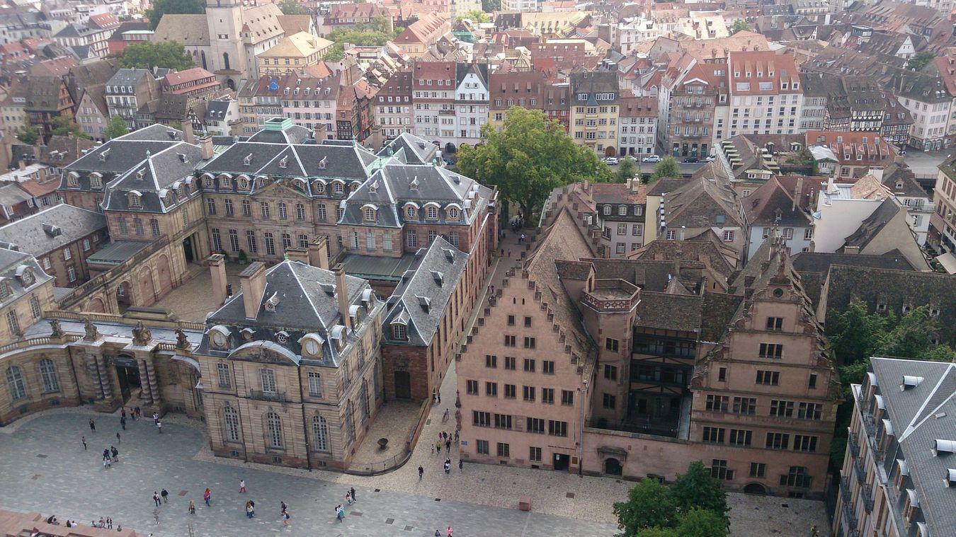 Estraburgo bonita ciudad,