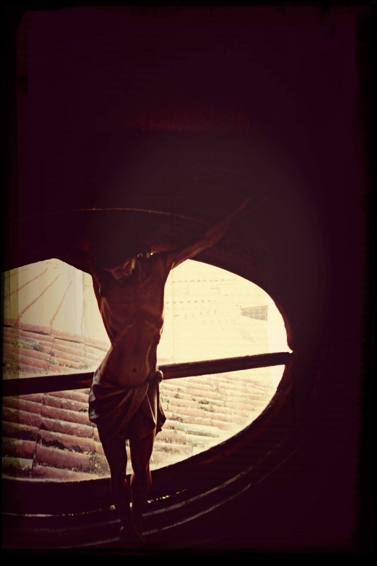 Cristo na janela