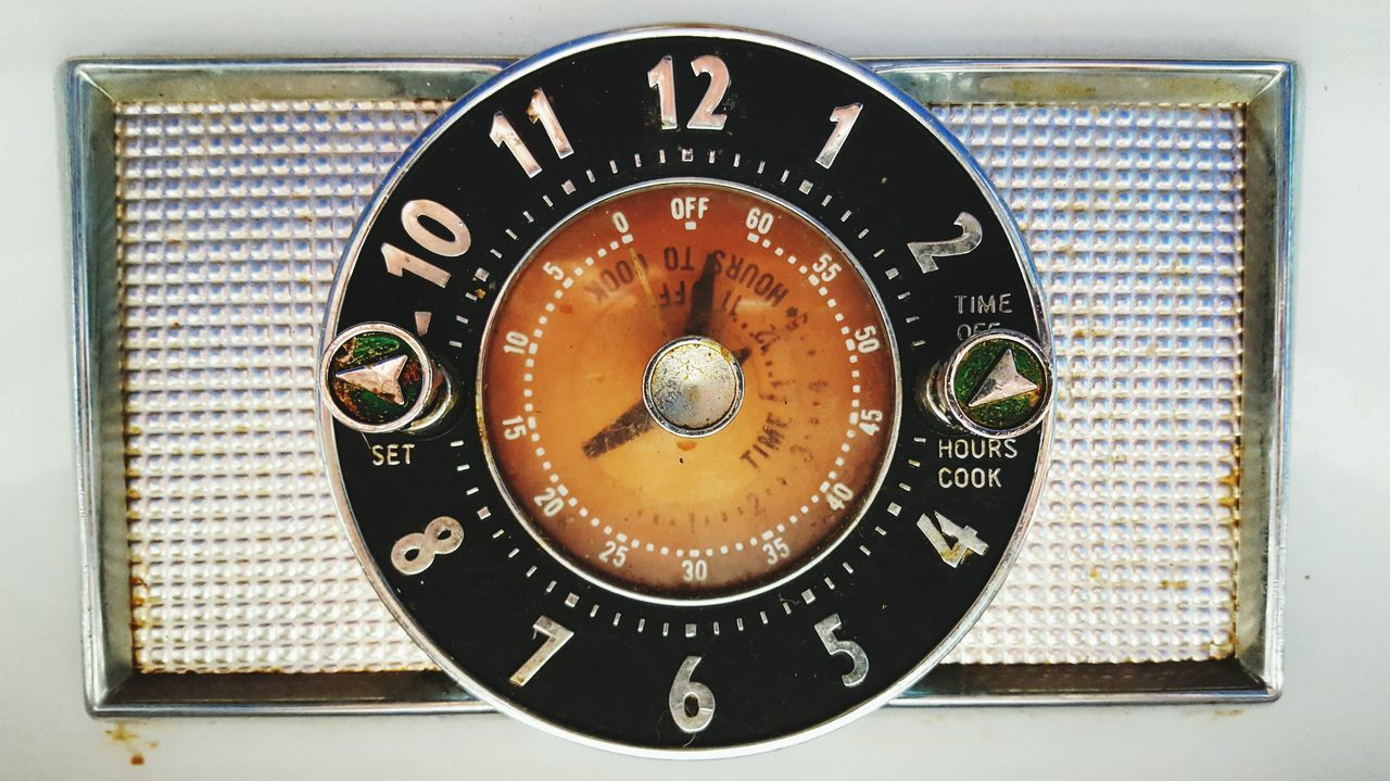 Clock Time Clock Face Oven General Electric Stove Vintage Antique In The Kitchen Timer Clocks Tool Dial Button Vintage Photography