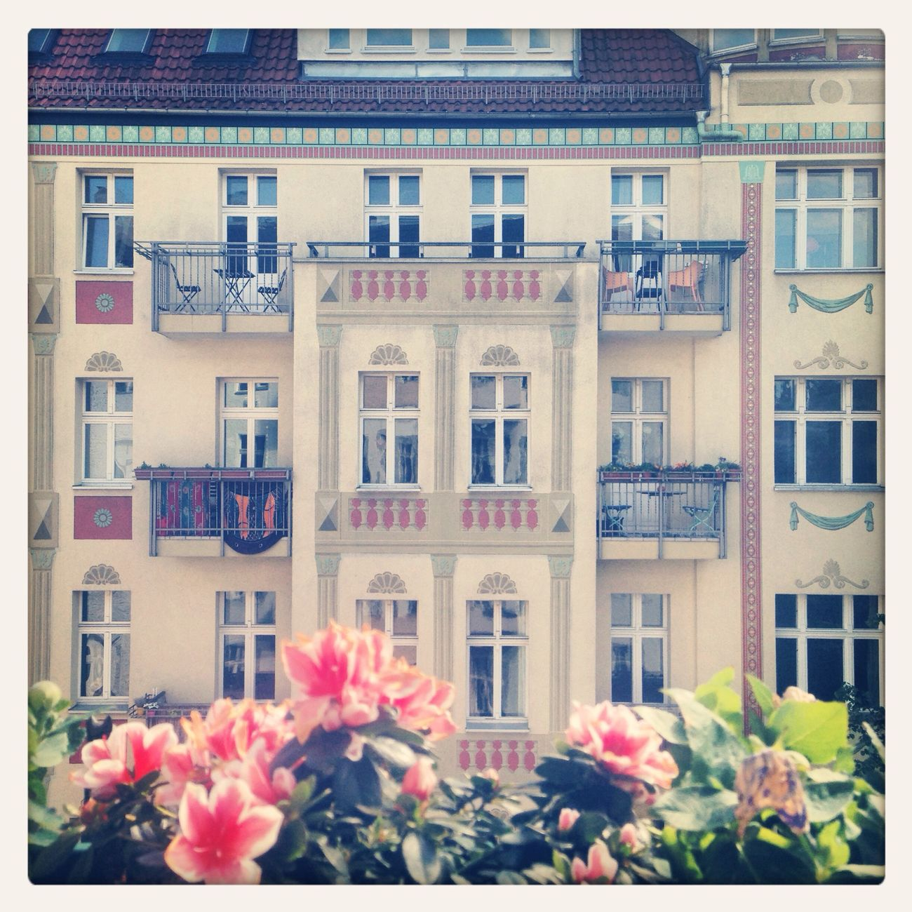 Berlin good morning Terrace Friedrichshain May