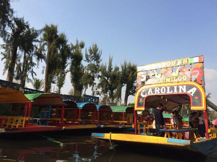 Xochimilco DF Mexico De Mis Amores Bestsellers Trajinera Sun Light Nature_collection Day