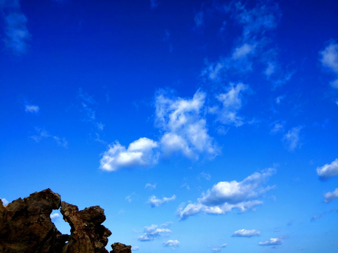 Beauty In Nature Sky Rock Blue No People Nature Jeju JEJU ISLAND  Jeju Island, Korea Nature Jejuisland Jejudo Jeju-island Jeju-do Jeju_korea JEJU ISLAND  Cloud - Sky