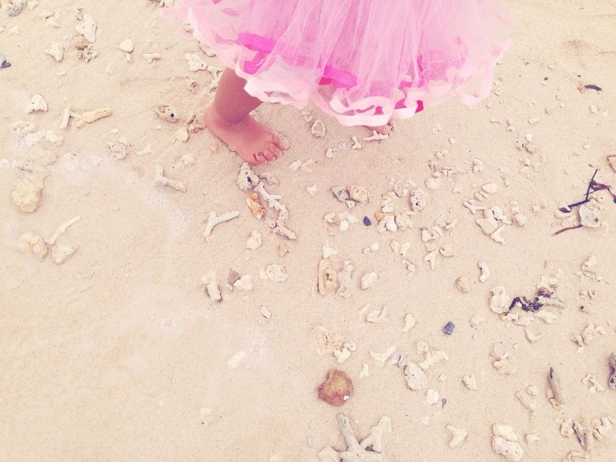 Tutudress Lagoons Sands Baby Foot