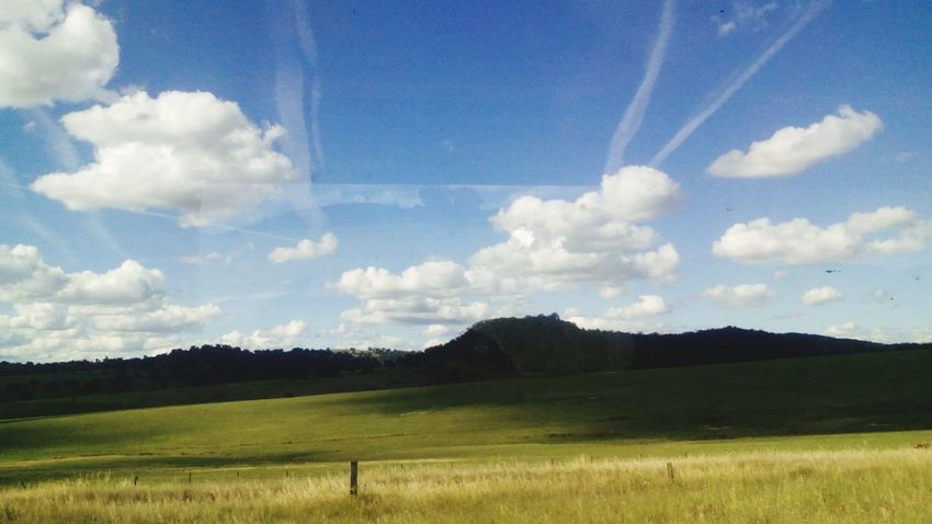 Australia Blue Sky Countryside First Eyeem Photo Lovetheview Traveling Trainride