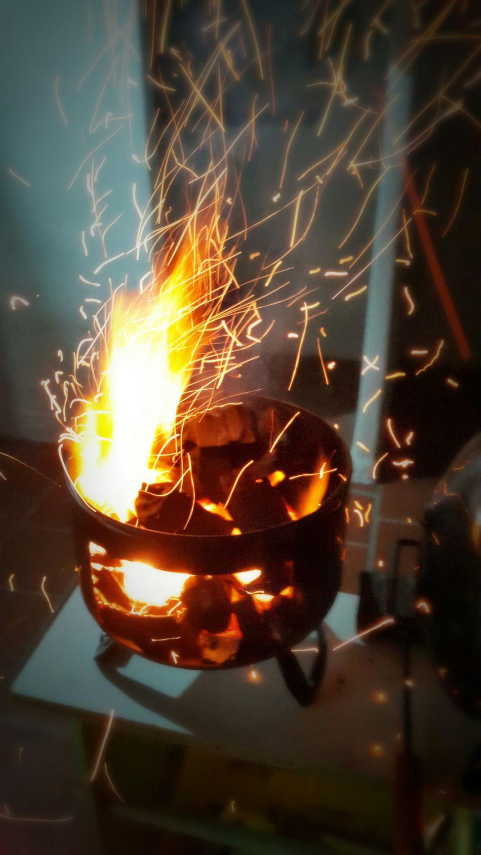 Fogon Carbon Carbonero Fuego Argentina Photography Brasas Chispas