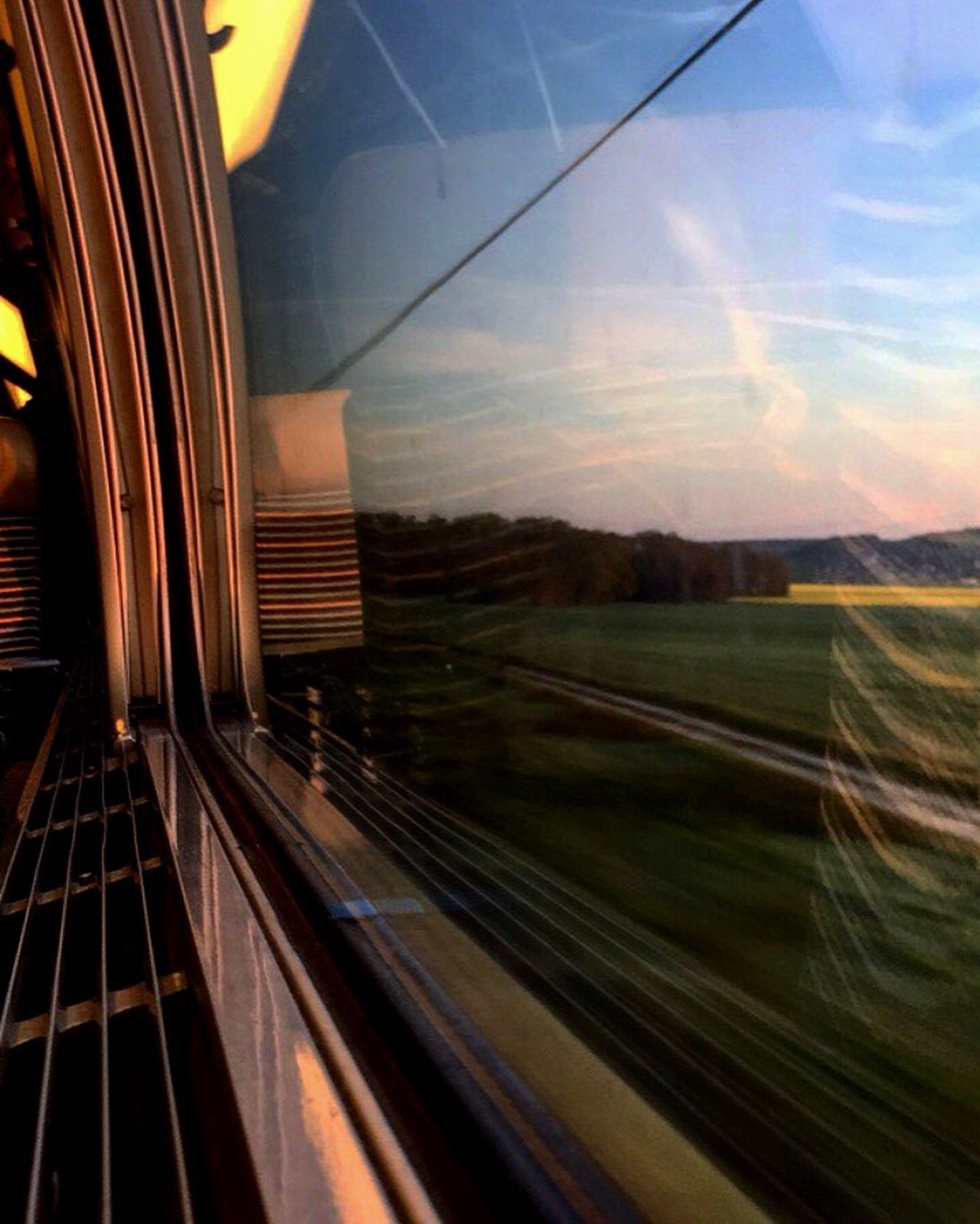 Train High Speed Sncf Highspeed TGV Transportation No People Sky Landscape Outdoors Nature Day Sunset Morning Sunny Traveler French Transportation Alstom Sncf Class Beautiful View Window