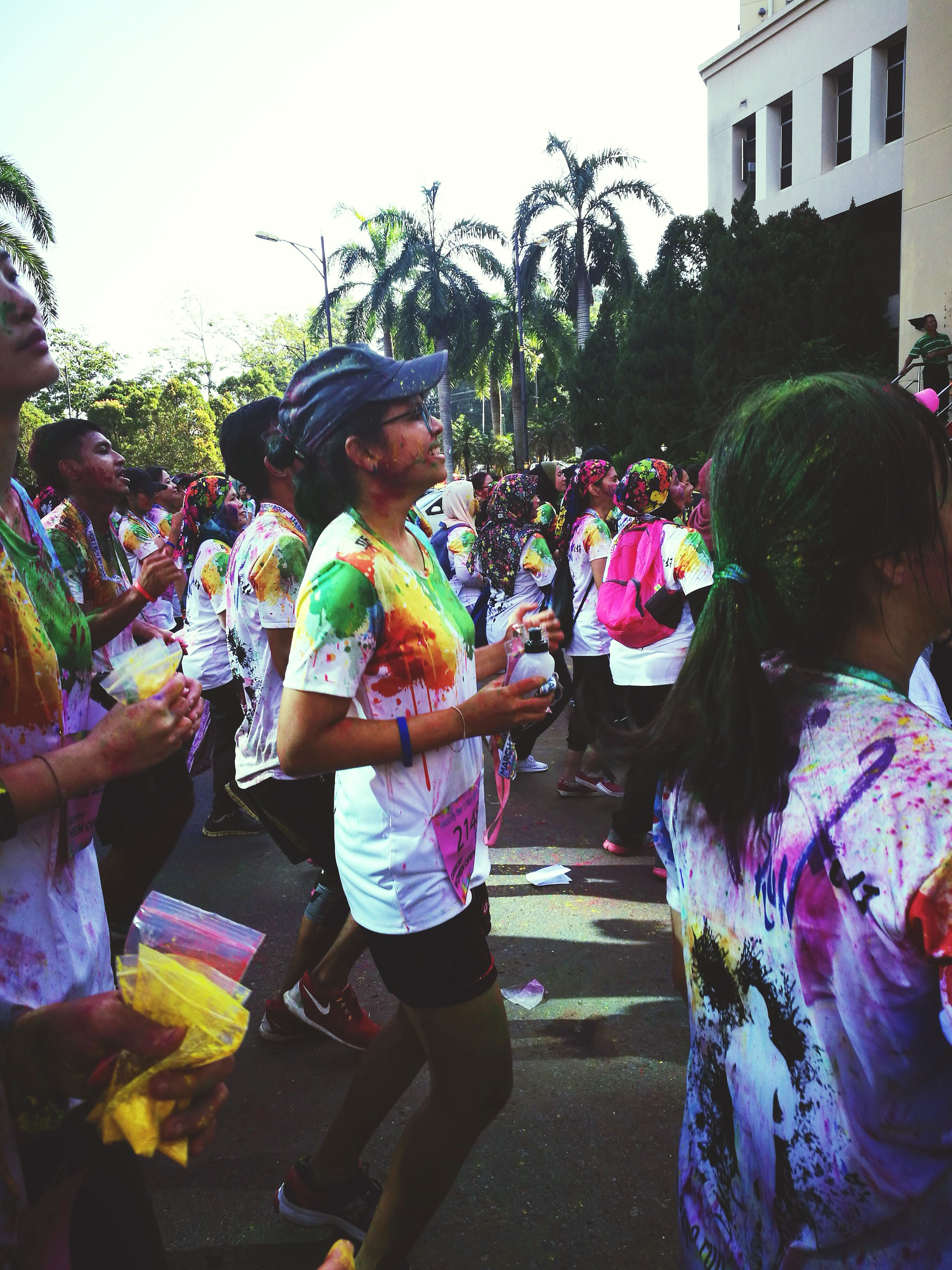 Spread The Colours In Your Heart Celebration Multi Colored Cultures Party - Social Event Adults Only Tradition Traditional Festival People Adult Holiday - Event Real People Outdoors Celebration Event Happiness Only Men Day Men Performance Young Adult Holi