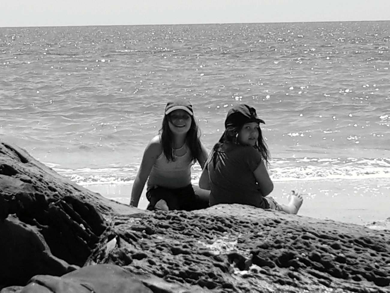 My Girls at the beach
