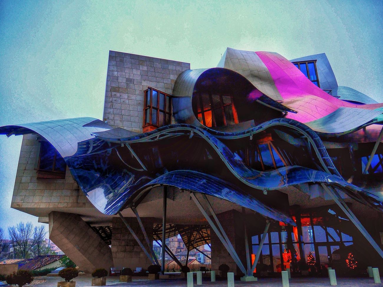 The Architect - 2015 EyeEm Awards Marques De Riscal Frank Gehry Elciego Bodega Hotel Restaurant Somosfelices Enjoying Life Moments