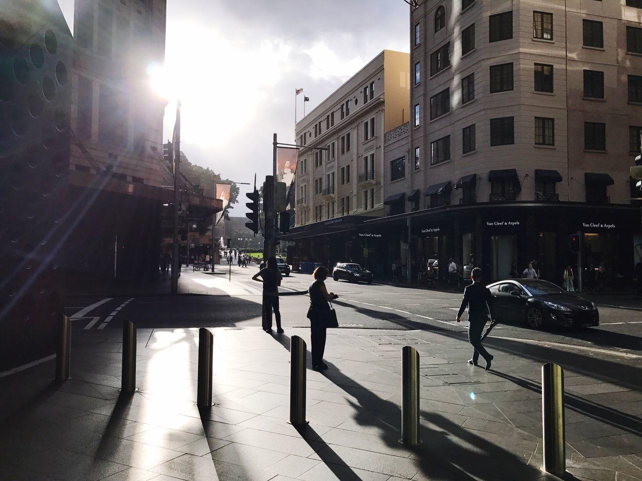 Morning Light & Sun Rays Through The Clouds | The City Light