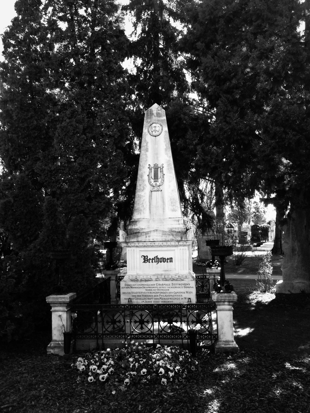Gravestone Graveyard Beauty Favorite Composer • Ta Ta Ta Taaa
