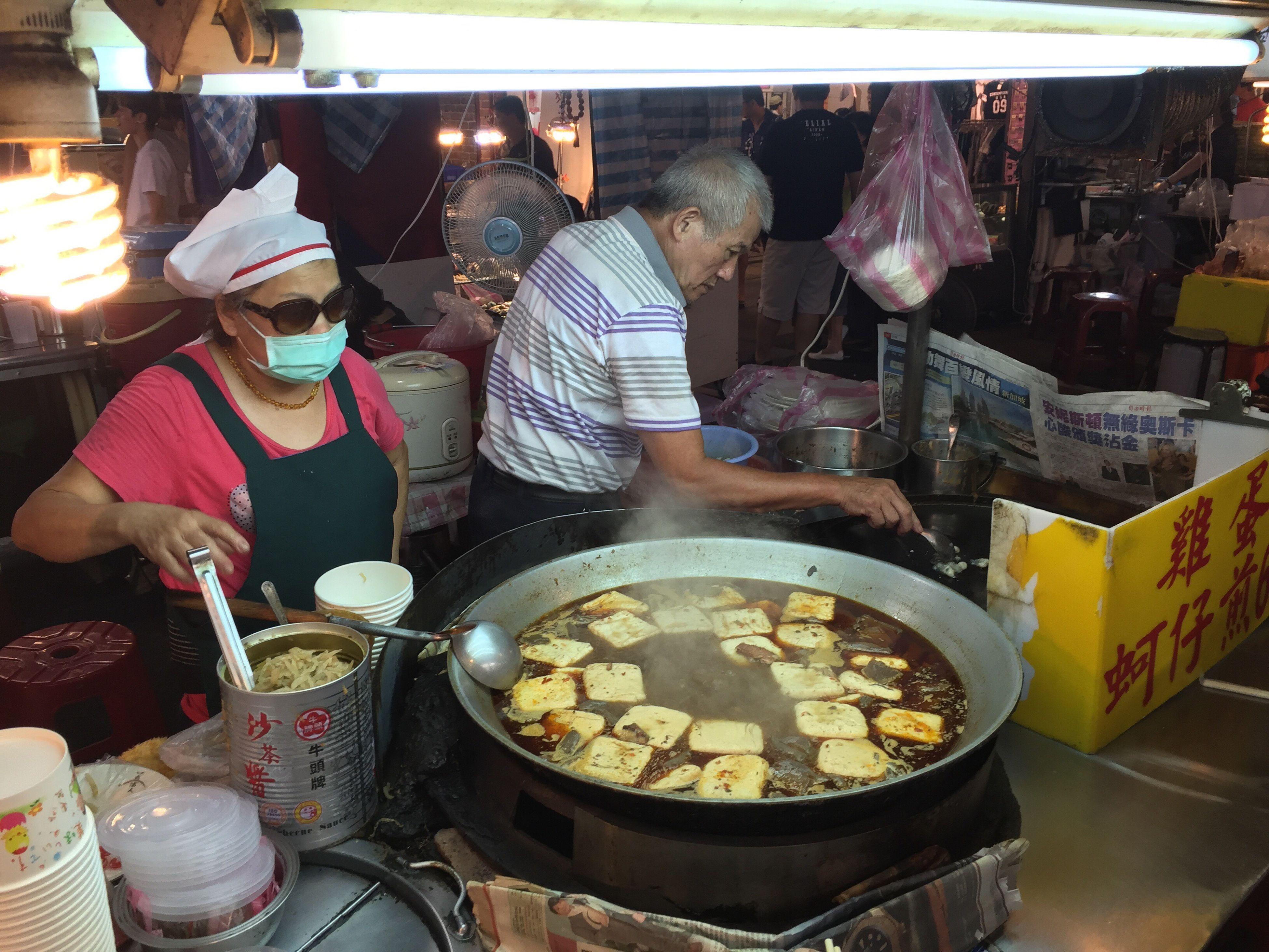 real people, food, food and drink, preparation, market stall, freshness, market, men, retail, indoors, women, lifestyles, healthy eating, day, ready-to-eat, one person, people