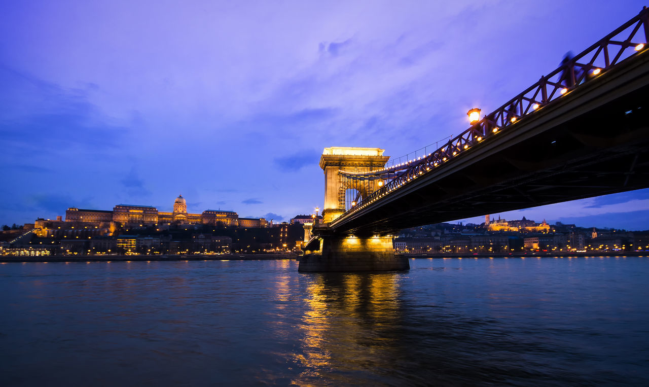 Beautiful stock photos of budapest, architecture, water, bridge - man made structure, river