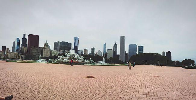 Chicago USA USAtrip Michigan Trip Buckingham Fountain City Cityscapes Skyline Water Urban Exploration