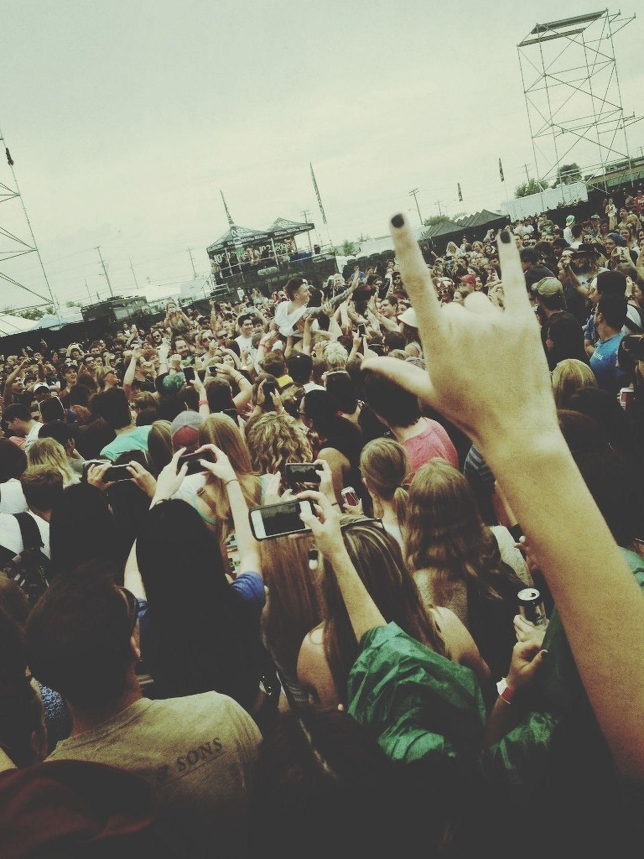 Concert Enjoying Life