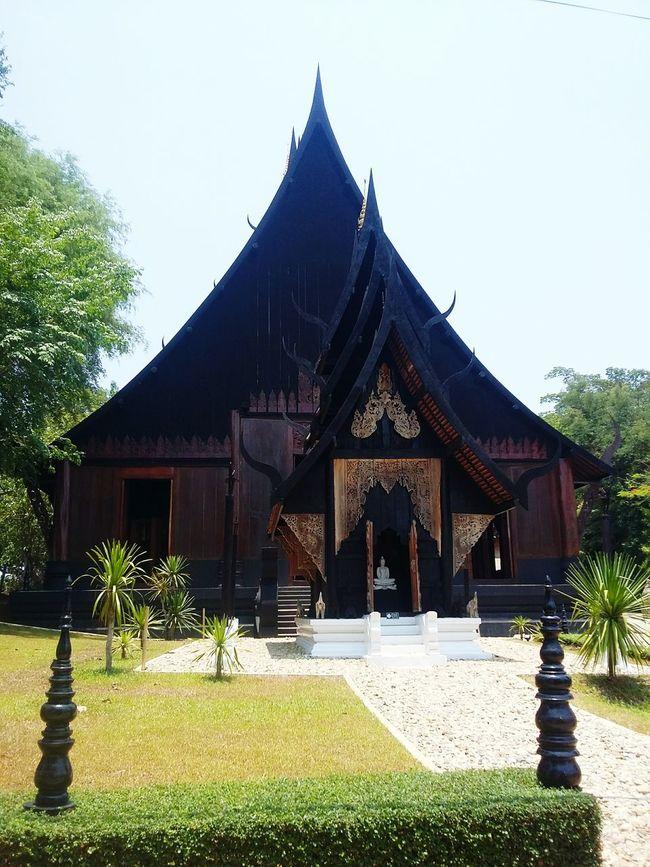 Black temple2 in Chiangrai. Black Temple Chiangrai Thailand