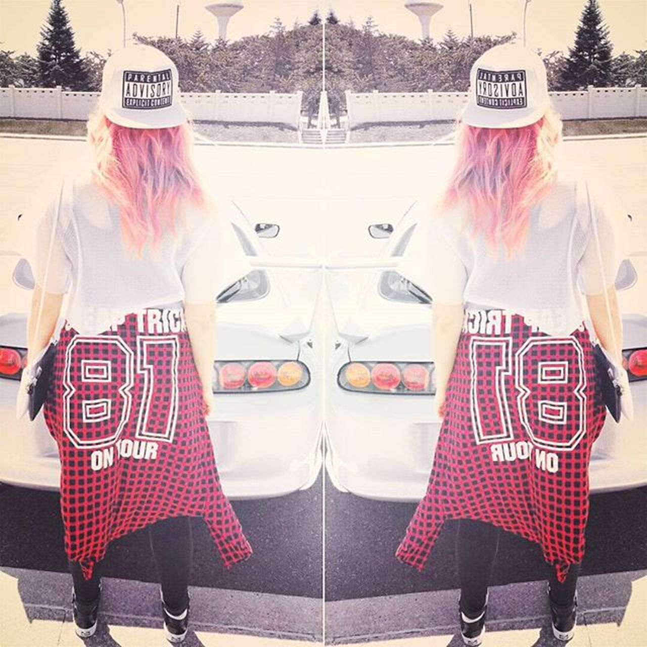 Never looking back 👓👣💭 Japan TBT  Ootd Style Lookbook POTD Ukrainiangirl Ukrainki Pinkhair Hairporn Hairinspiration Wanderlust Supra Supranation 2jz