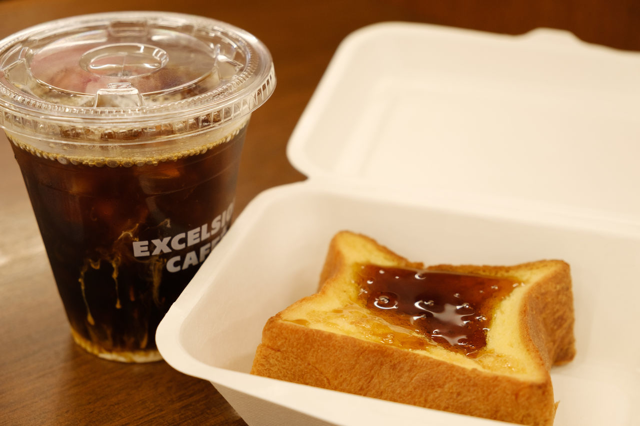 FUJIFILM X-T2 French Toast Iced Coffee Japan Japan Photography Cafe Fuji Fujifilm Fujifilm_xseries X-t2 アイスコーヒー エクセルシオールカフェ カフェ フレンチトースト