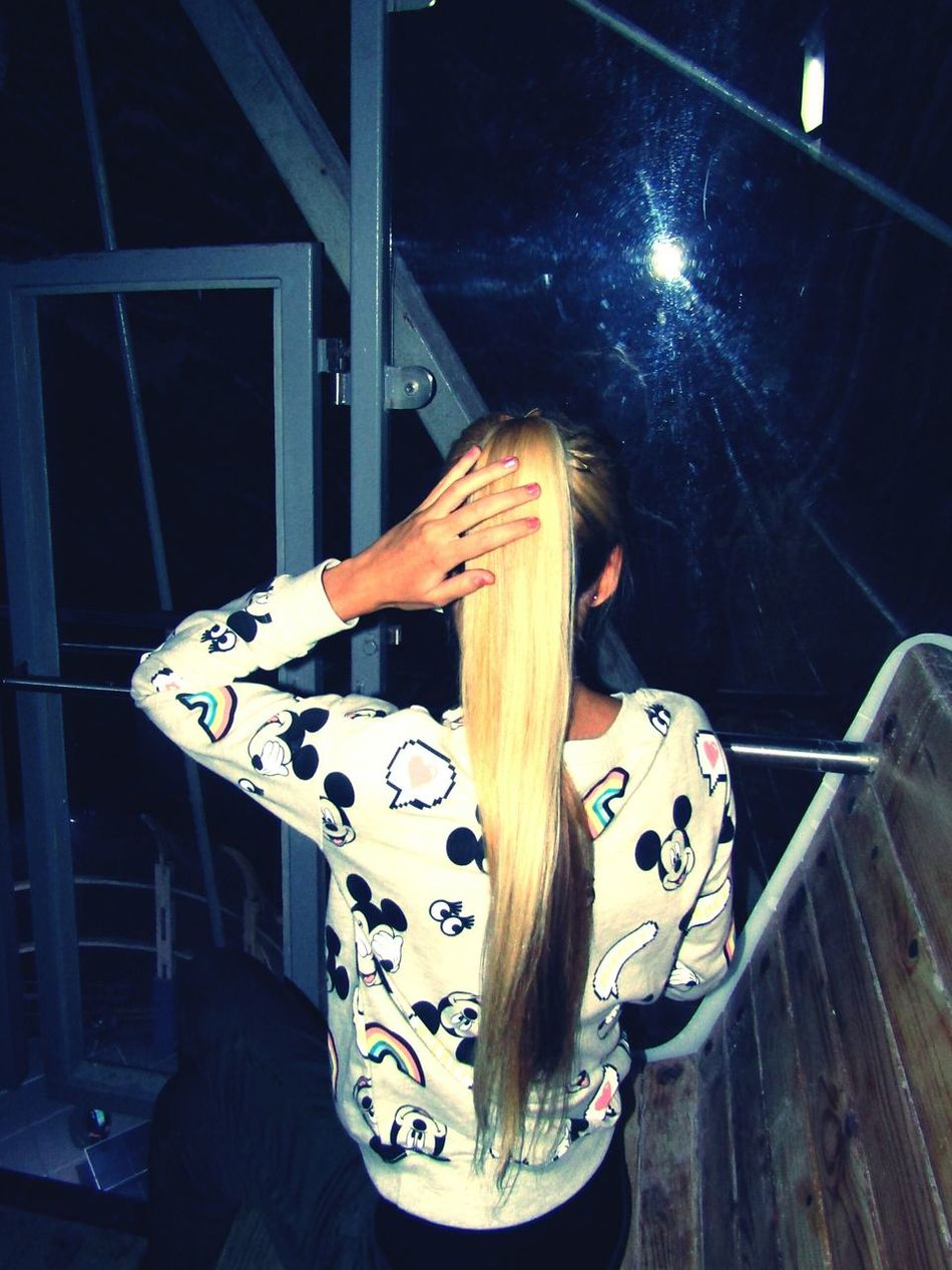 Seeing That's Me Hi! Itsme Hungariangirl Mickeymouse Blondehairdontcare Longhair View From Above Bigwheel Women Who Inspire You Salinaturda Saltcave Saltmine  Romania Todayphotography Welcomeweekly Looking Down Darkness