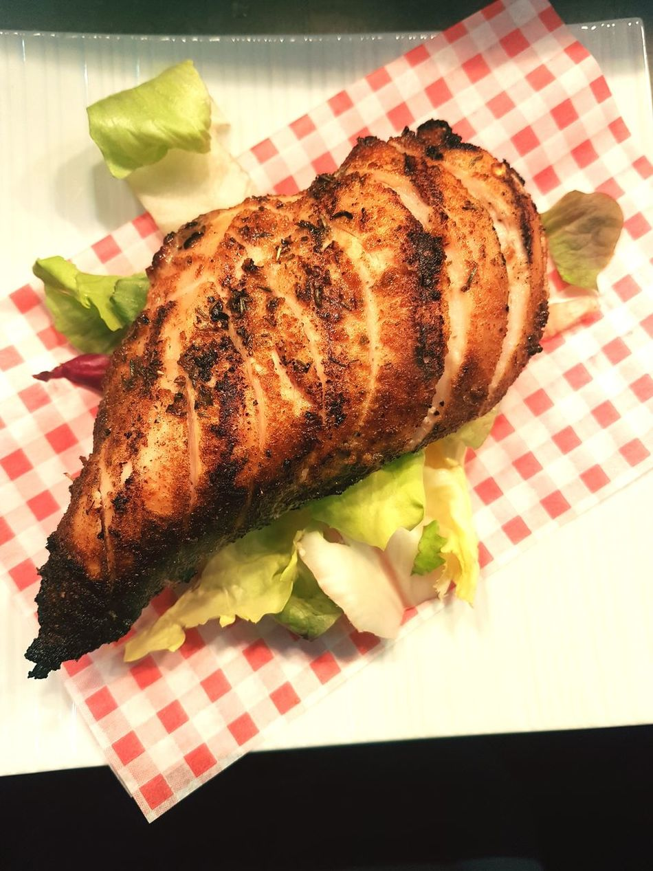 Cajun Grilled Chicken Chicken Cajunheartphotography EyeEmNewHere Food And Drink Food Freshness Homemade Close-up