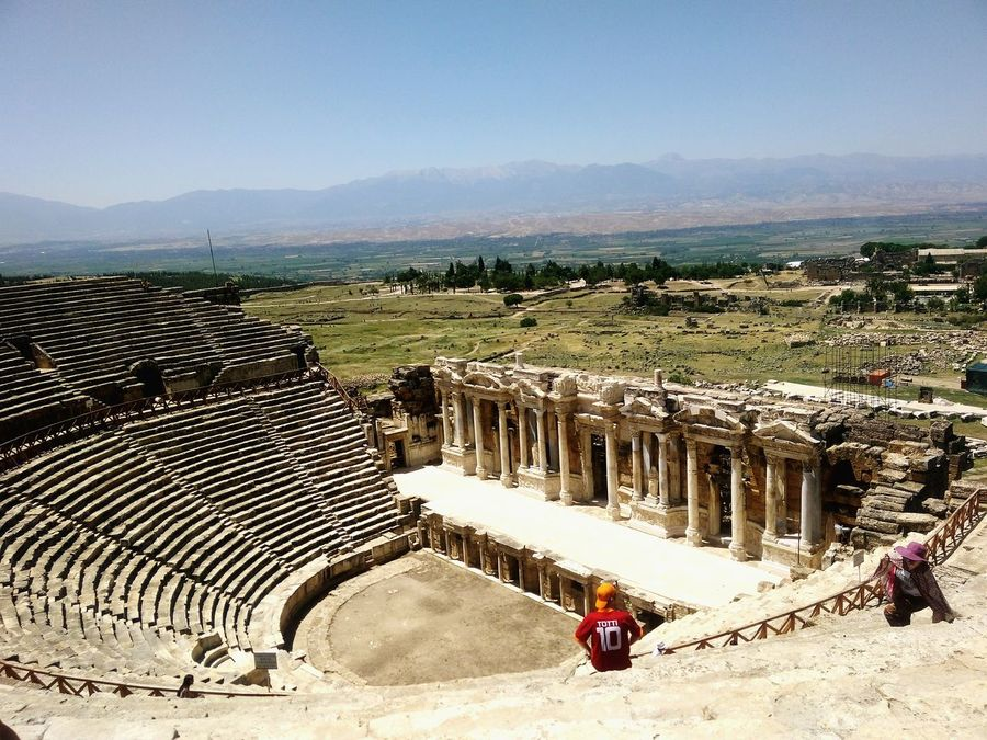 Antiquetheatre Roma History Visiting EyeEm Open Edit Hierapolis Pamukkale/Turkey Denizli