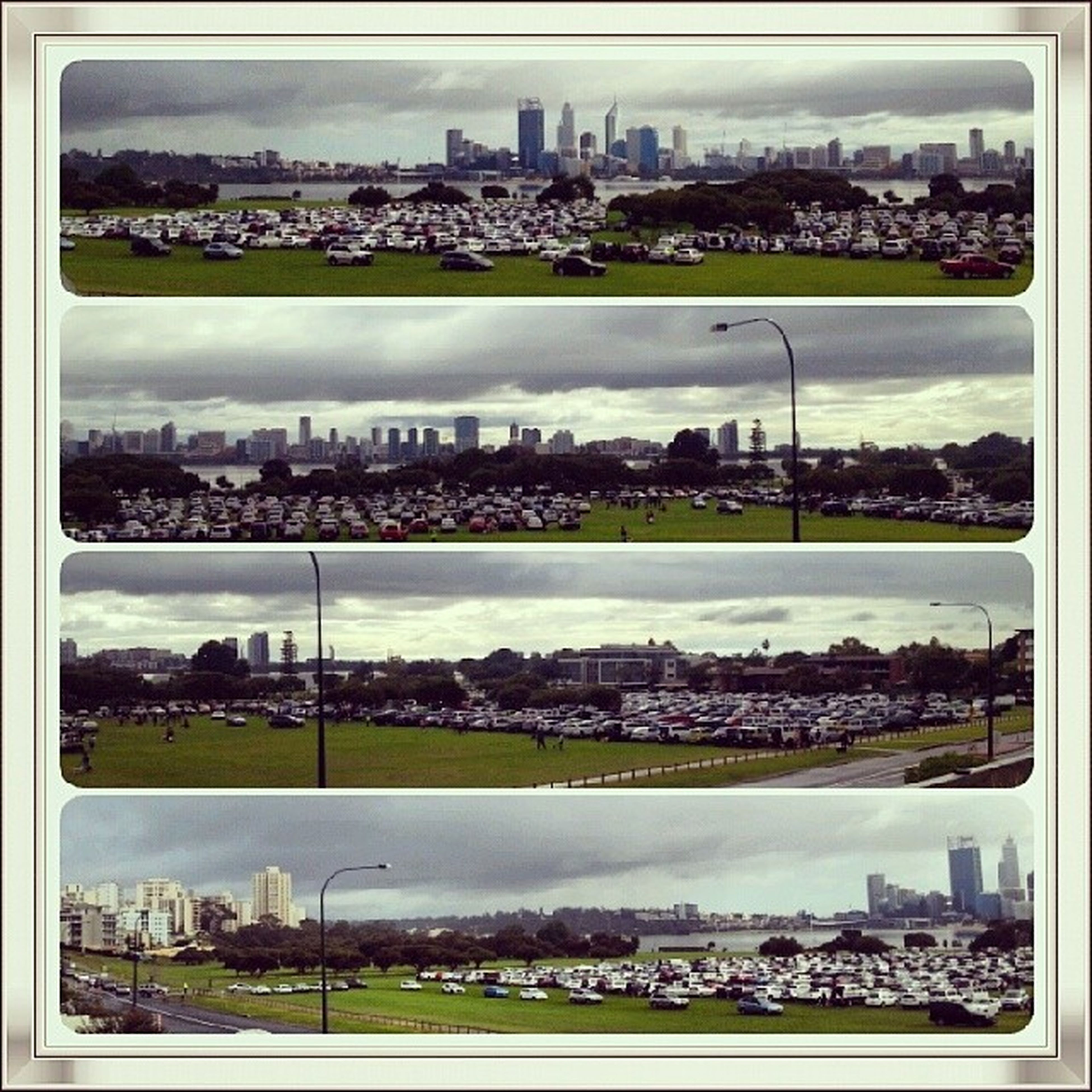 It doesn't take long for Sirjamesmitchellpark to fill up for the Millionpawswalk Somanypuppies Carpark