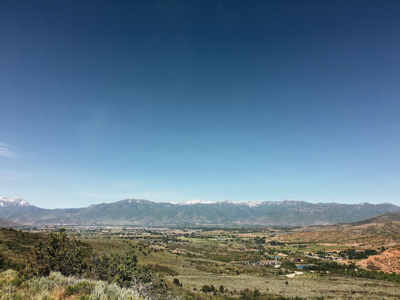 view from the run this morning. Heber City
