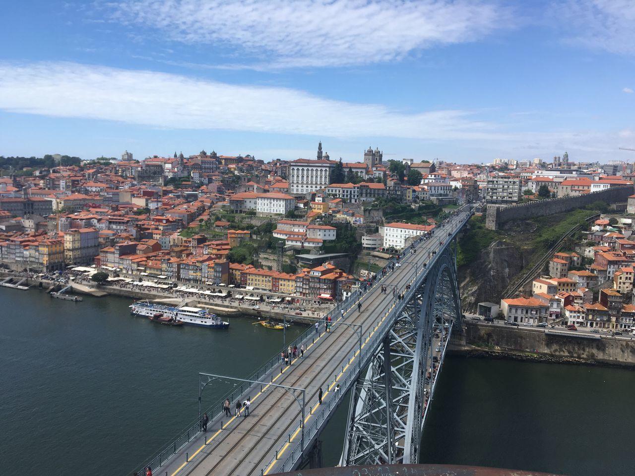 Porto Portugal Serradopilar Architecture Bridge - Man Made Structure City Built Structure Transportation Connection Sky River Water Bridge Transportation Portugal Is Beautiful Douro