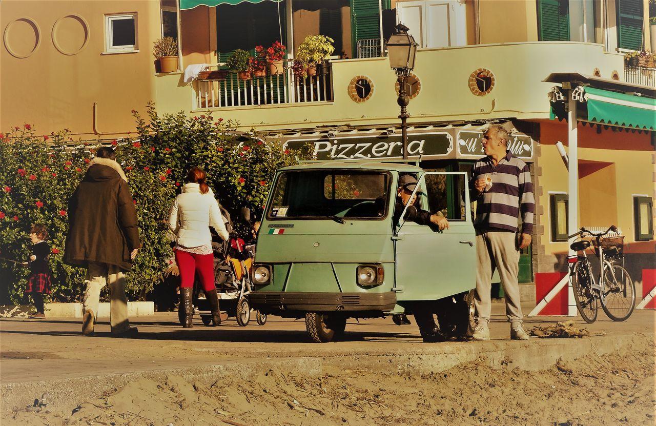 Adults Only Alassio Alassiobeach Ape Architecture Building Exterior City Day Italian Riviera Italian Village  Italy Italy❤️ Leisure Activity Liguria Liguria,Italy Outdoors People Riviera