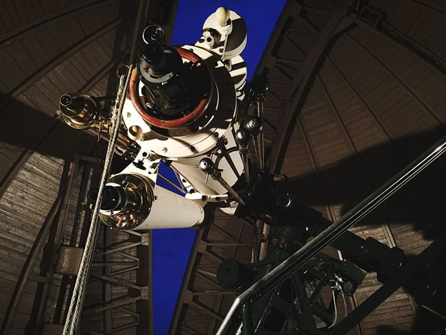 """Kelly, watch the stars"" Another shot from the observatory. Telescope Observatory Stargazing My God, It's Full Of Stars"