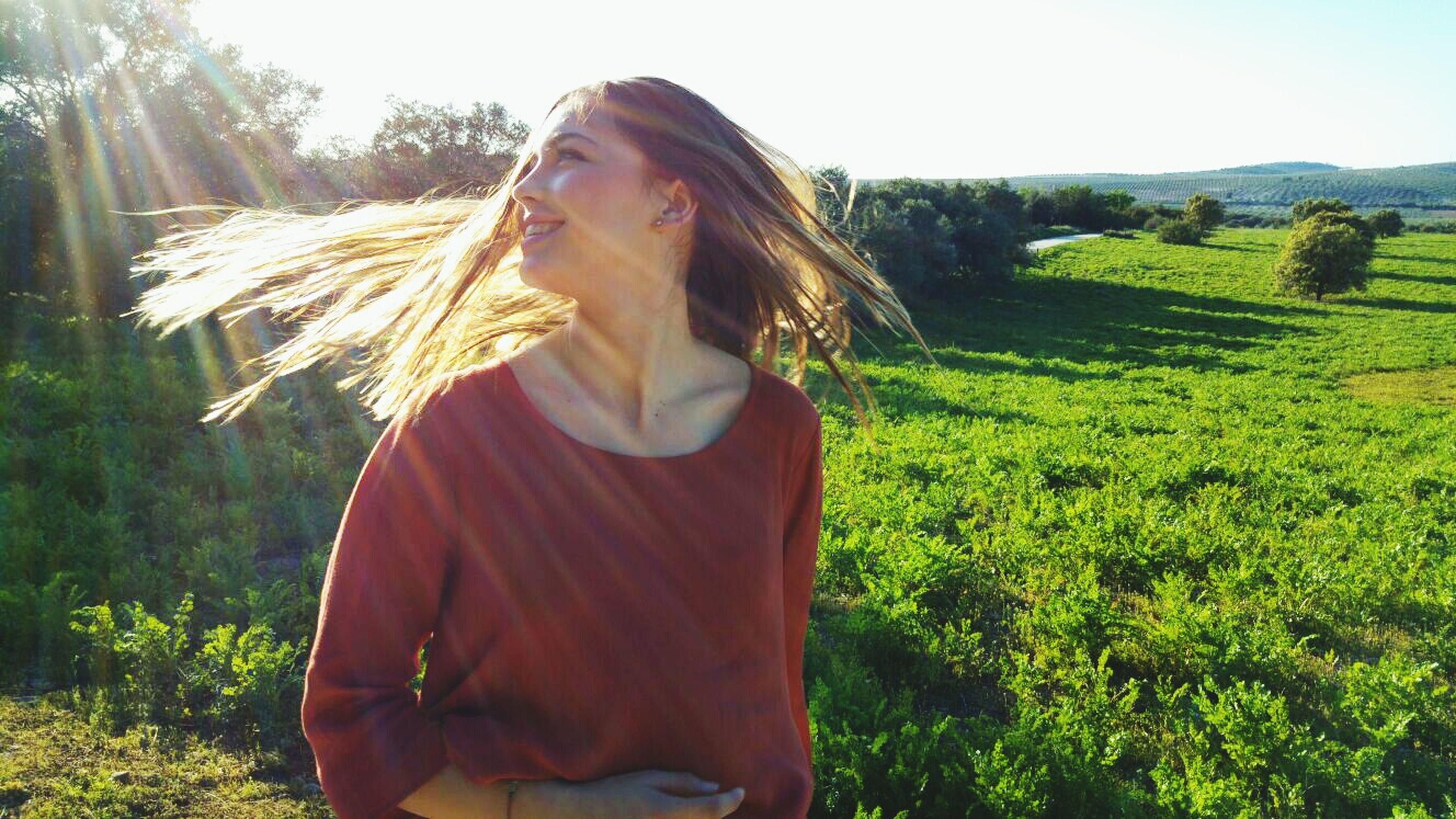 LIBRE SIEMPRE LIBRE Longhair Blonde Girl Aire Libre Libertad Smile ✌ Don't Give Up Arriba Las Mujeres *-^
