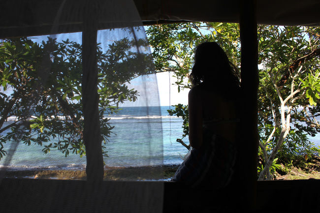 Beach Colour Female Silhouette Island Mosquito Mosquito Net Ocean Pacific Island Palm Trees Paradise Reef Relaxation S Samoa  Savai'i Silhouette Snorkelling South Pacific Surfing Swimming Tropical Tropical Paradise Tropics Warm Warm Water