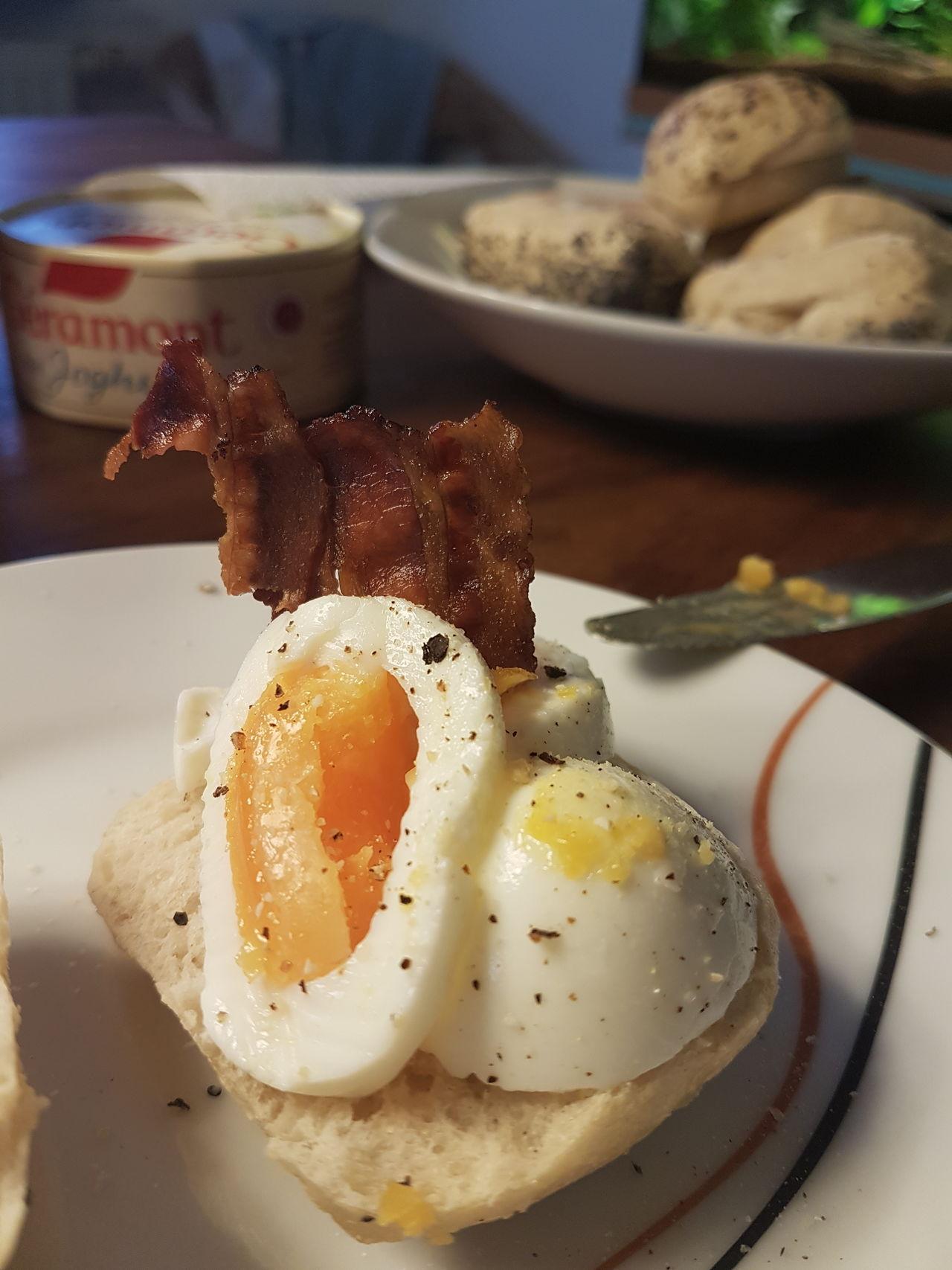 Egg Food Breakfast Food And Drink Bacon! Bacon&egg Frühstücksei