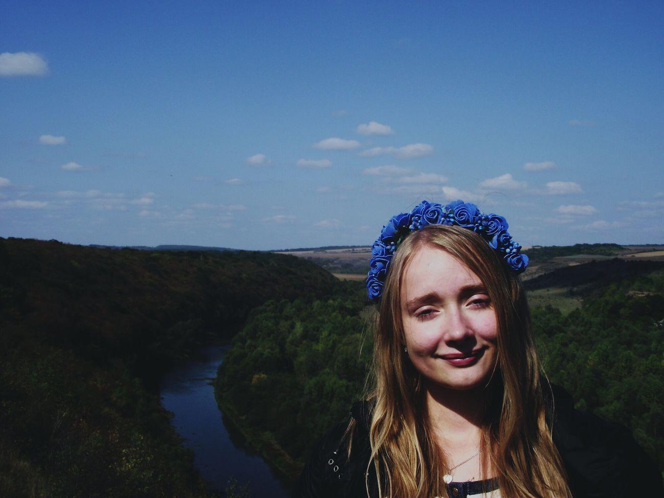 Ukraine Polish Girl Slav Women River Nature