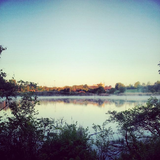 Early Morning Bike Ride